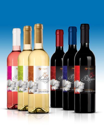 Egri Muskotály (félédes) bor 0,75l