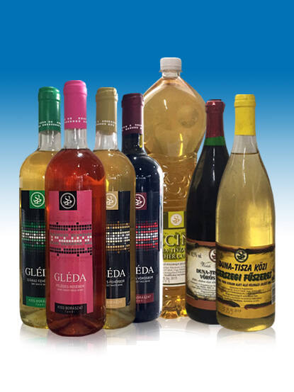 GLÉDA (félédes) fehér bor 0,75l