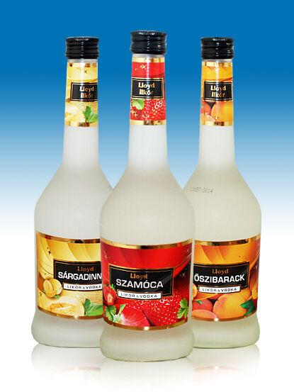 Lloyd Sárgadinnye likőr&vodka likőr 18% 0,5l