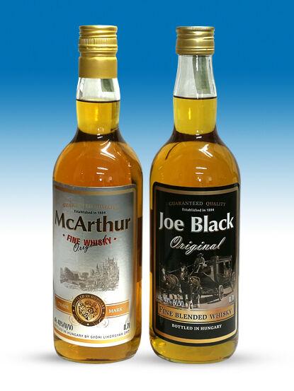 mcarthur joe black whisky