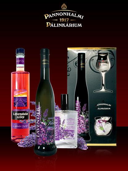 Pannonhalmi Lavender szeszesital 40% 0,04l F