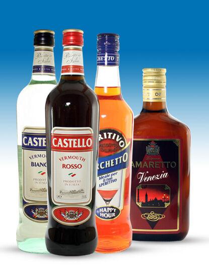 Amaretto likőr 20% 0,7l