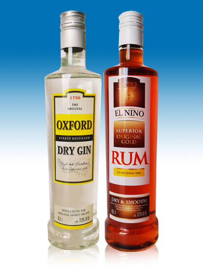 Oxford Dry Gin 37,5% 0,5l